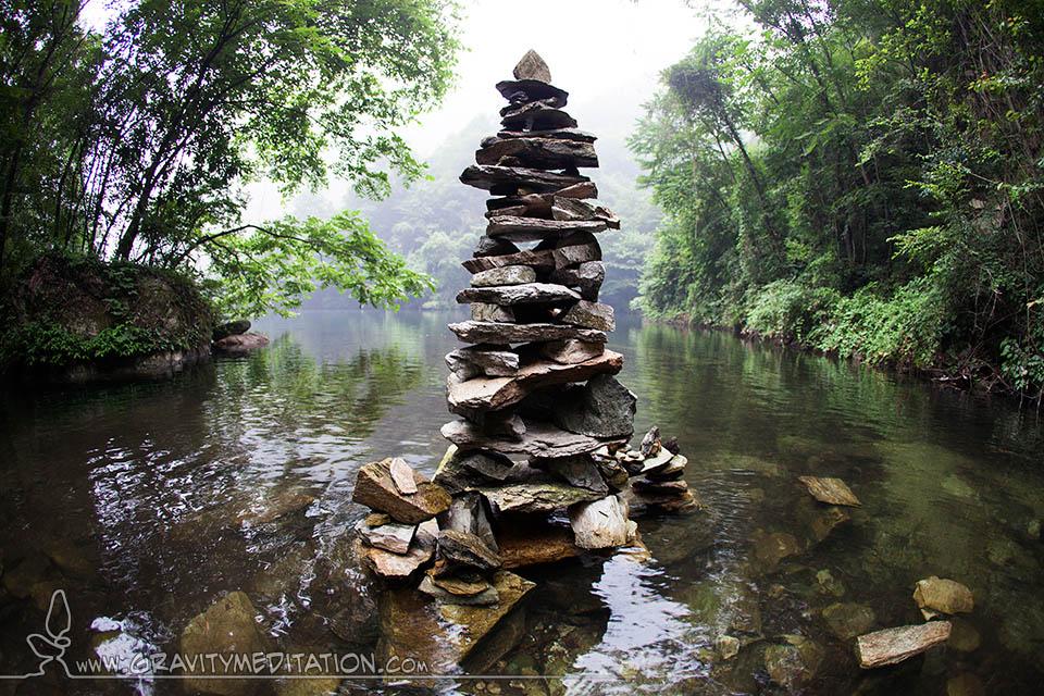The Art Of Rock Balancing Gravity Meditation